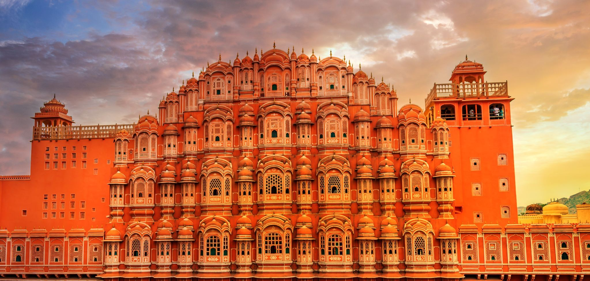 Palace of the wind - Jaipur c Shutterstock-1147978499 compress