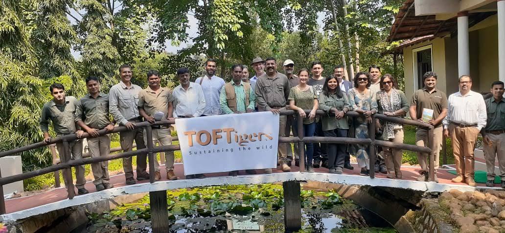 Kanha Mukki particiapnts at Chitvan Lodge c TOFTigers