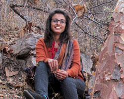 Mittal Gala, one of Khem Villas three in-house naturalists.
